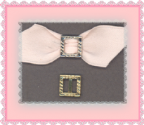 Square Buckle 10 x 10mm